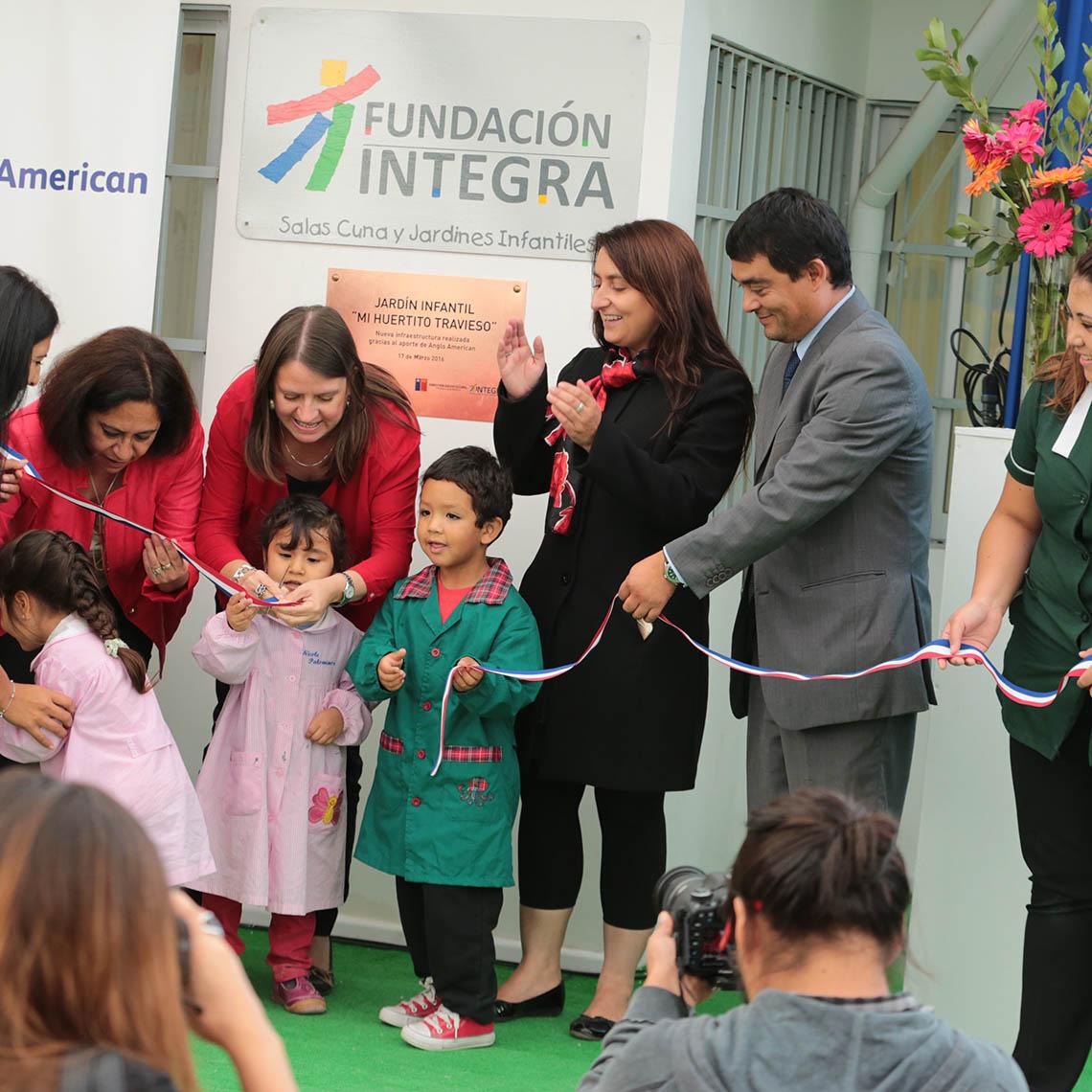Inauguración nueva infraestructura en Jardín Infantil Mi Huertito Travieso