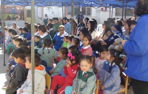 Jardines participan en programa de salud bucal