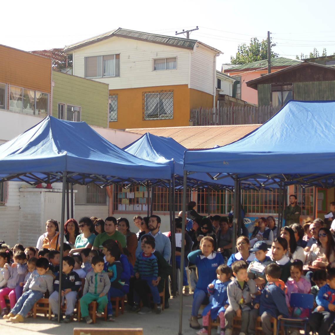 """Jardines de la Región de Valparaíso participan en el Programa de Salud Bucal """"Mi familia cuida mis dientes"""""""