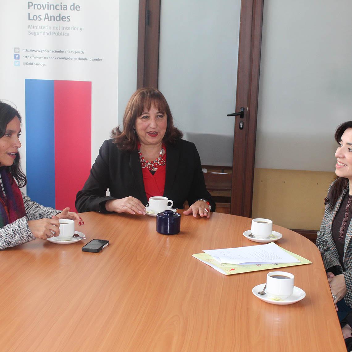 Autoridades de Integra y de la Gobernaciión Provincial de los Andes analizan avance del nuevo jardín en Rinconada