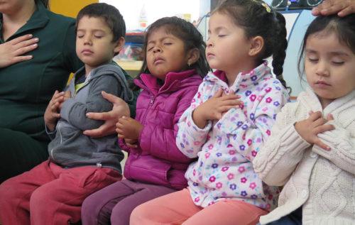 El jardín infantil que escucha el corazón de los niños y niñas