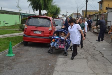 Carros de evacuación para 80 jardines Integra.