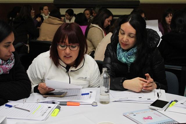 Educadoras se capacitan en mediación