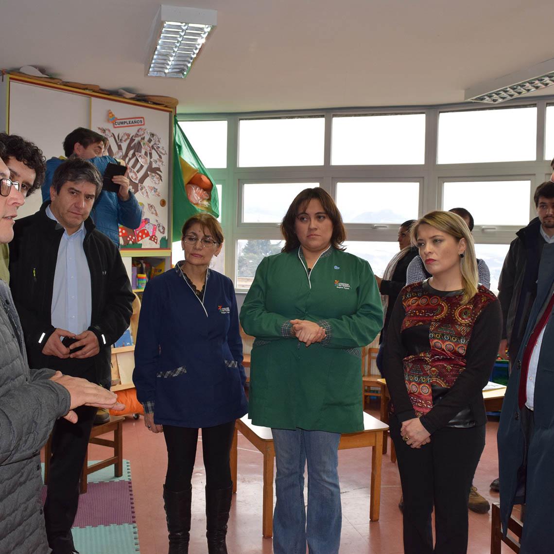 Calefacción geotérmica se instala en Jardines de la Región de Aysén