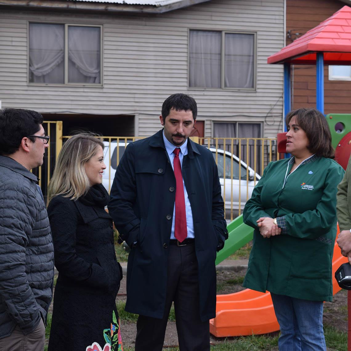 Ejecutivos y Educadores conversan sobre la calefacción geotérmica se instala en Jardines de la Región de Aysén