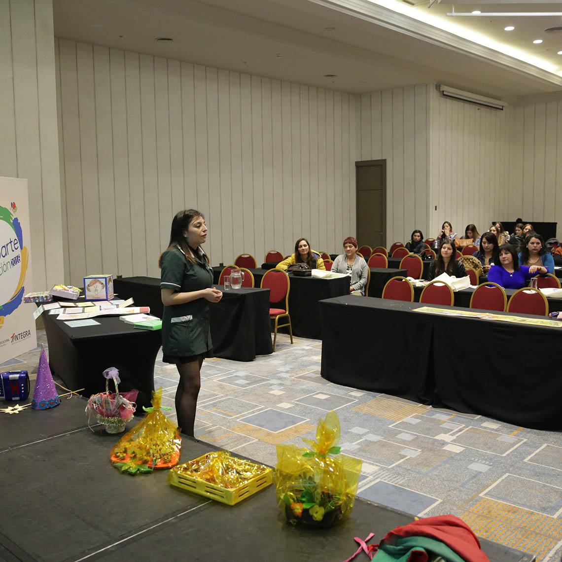 Autoridad de Integra realiza discurso en el inicio del proyecto Comparte Educación 2016
