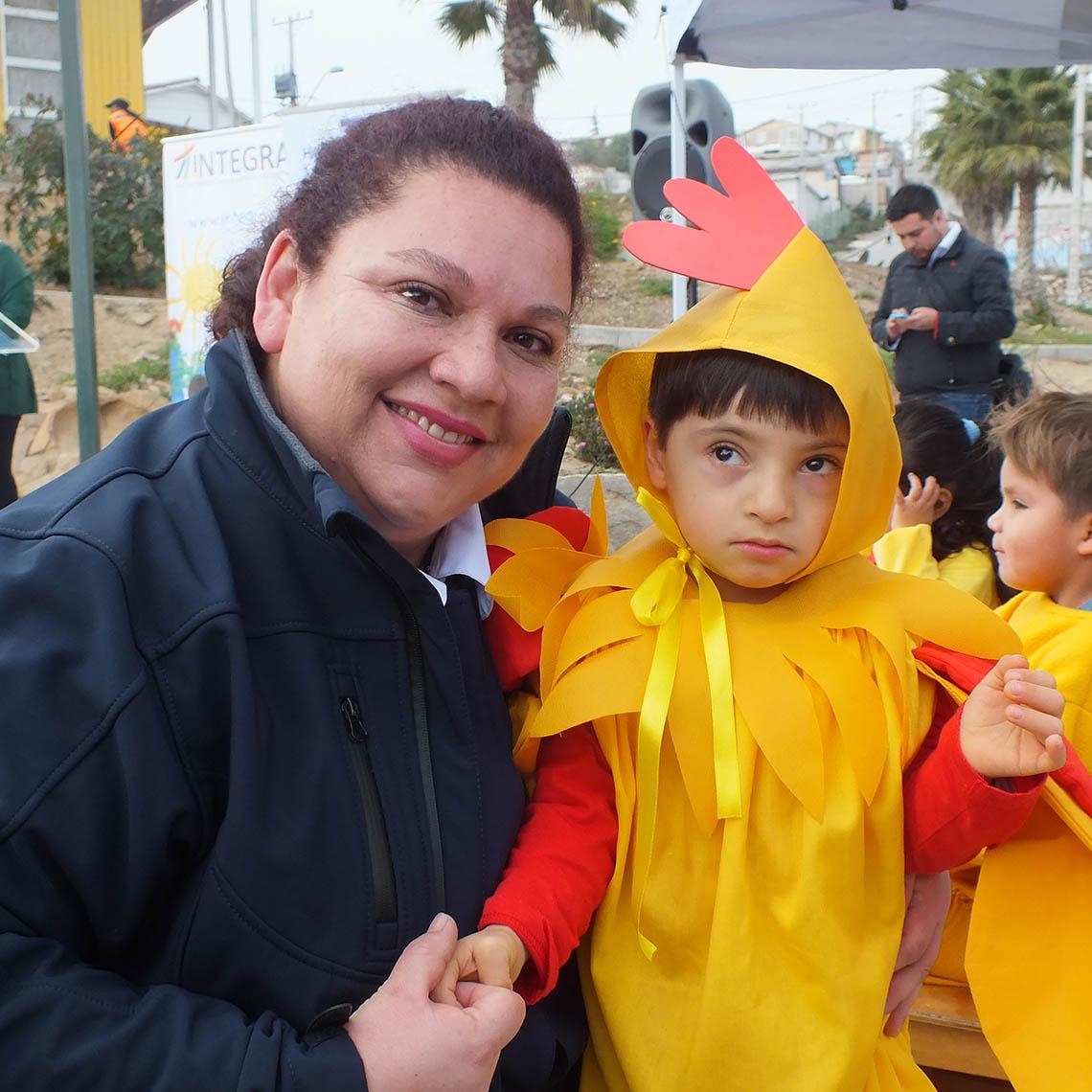Niños y niñas participan en actividad de inclusión desde la primera infancia
