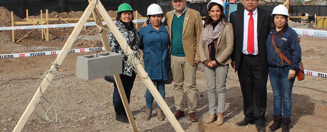 En Santa María autoridades dan el vamos a la construcción de nuevo jardín infantil de Integra