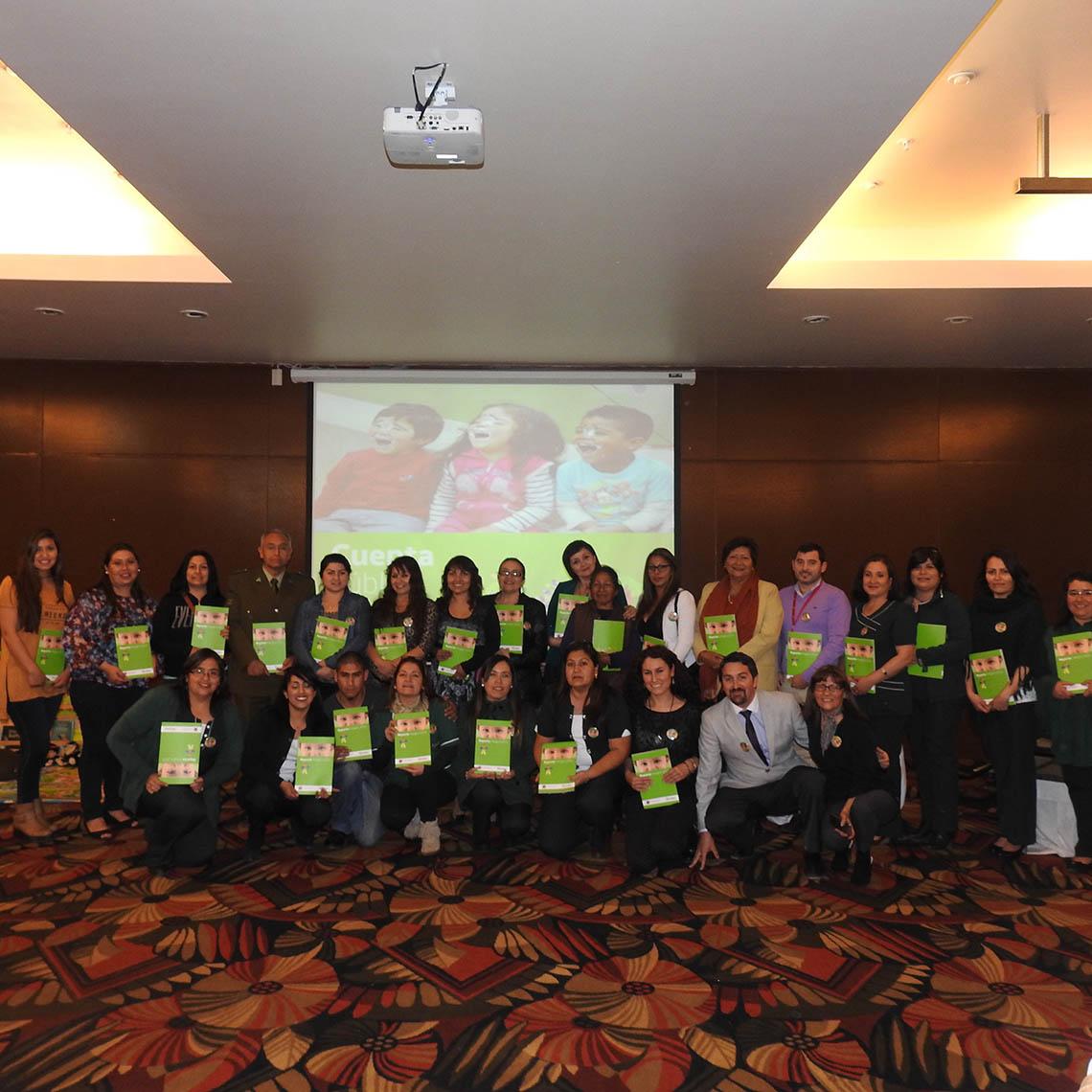 Asistentes a la presentación de la cuenta pública de la Región de Antofagasta