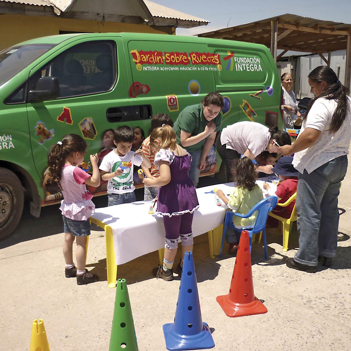 Jardín Infantil sobre ruedas - Modalidad no convencional