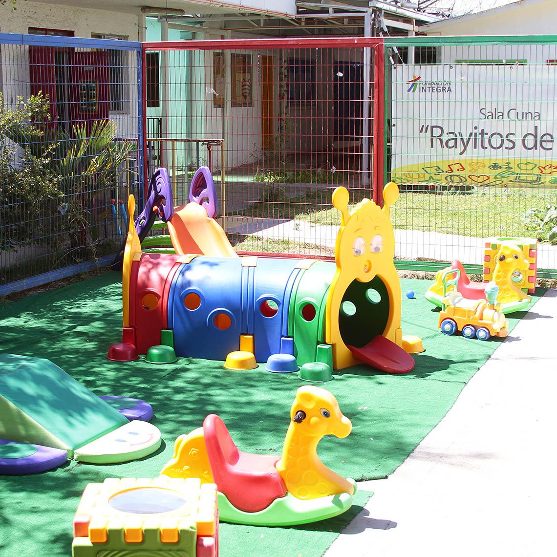 Jardín infantil y sala cuna en recinto penitenciario - Modalidad no convencional