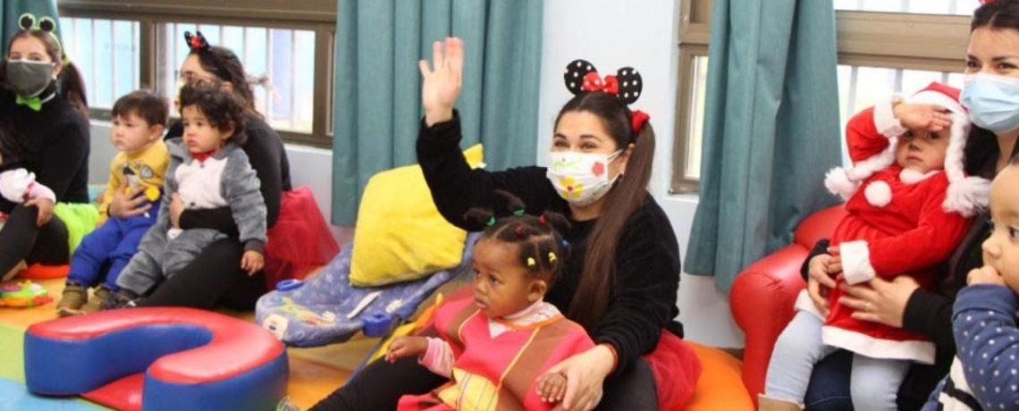 Más de 17 mil niños/as retornaron a las salas cuna y jardines infantiles