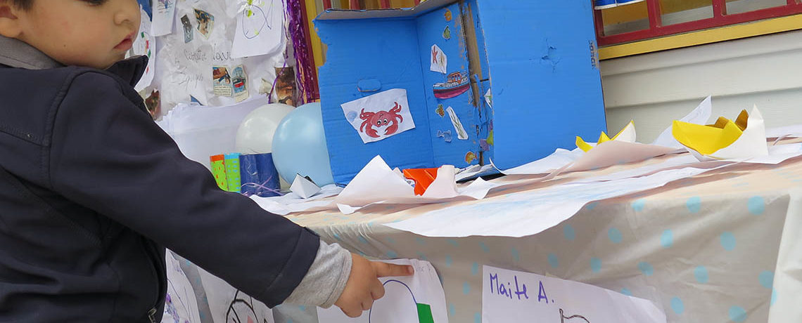Niños y niñas del Jardín Universidad de Atacama despiden el mes del mar