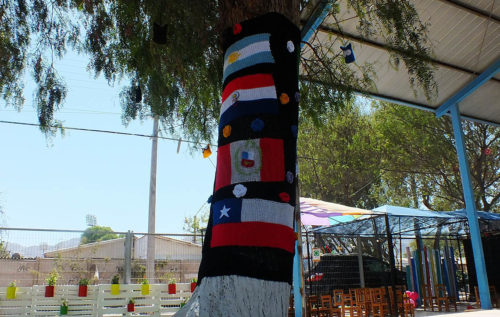 Exitoso proyecto de áreas verdes desarrolla  el Jardín Las Campanitas de Copiapó