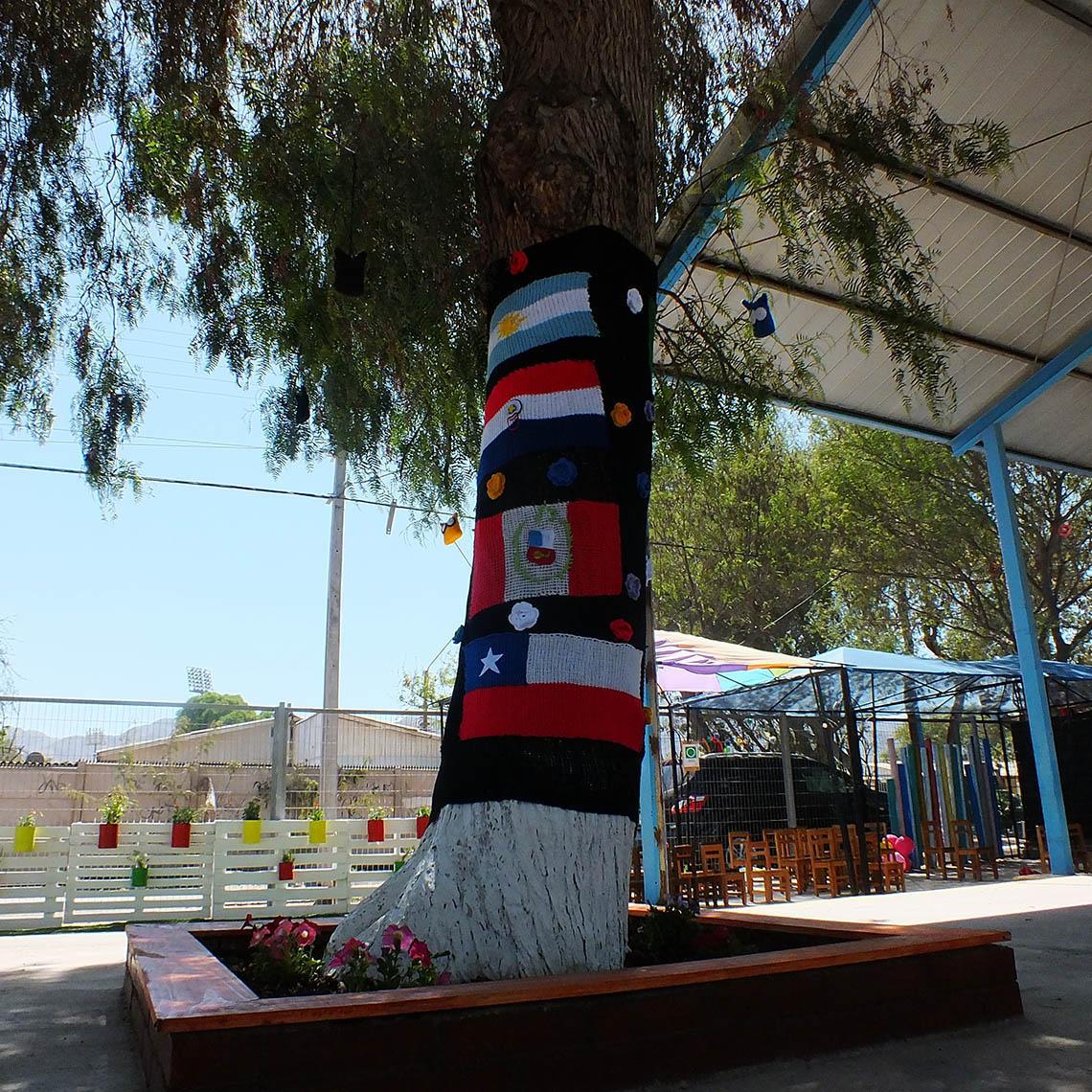 El jardín infantil Las Campanitas realiza intervención de áreas verdes para fomentar y valorar el medio ambiente.