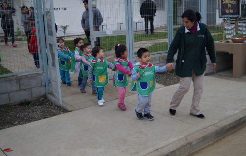 Nuevo jardín en Valdivia beneficia a 96 familias de Guacamayo