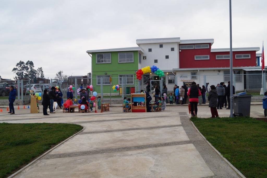 Inauguración jardín Estrellitas en la localidad de Guacamayo