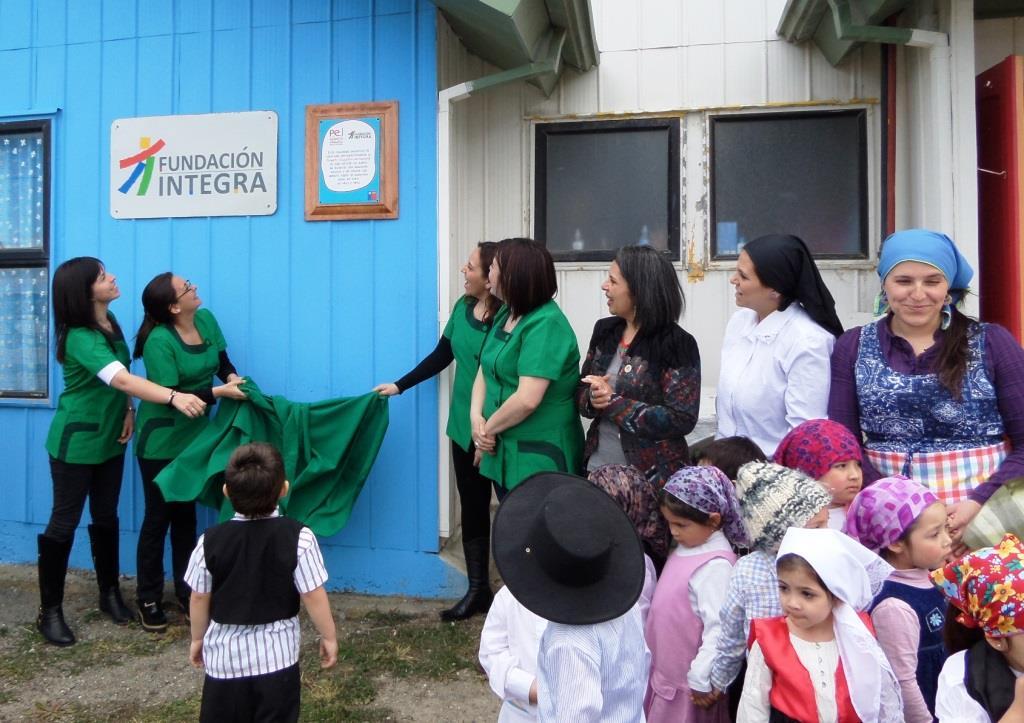 Reconocimientos a Jardín Infantil de la Región de Magallanes por la construcción de su PEI.