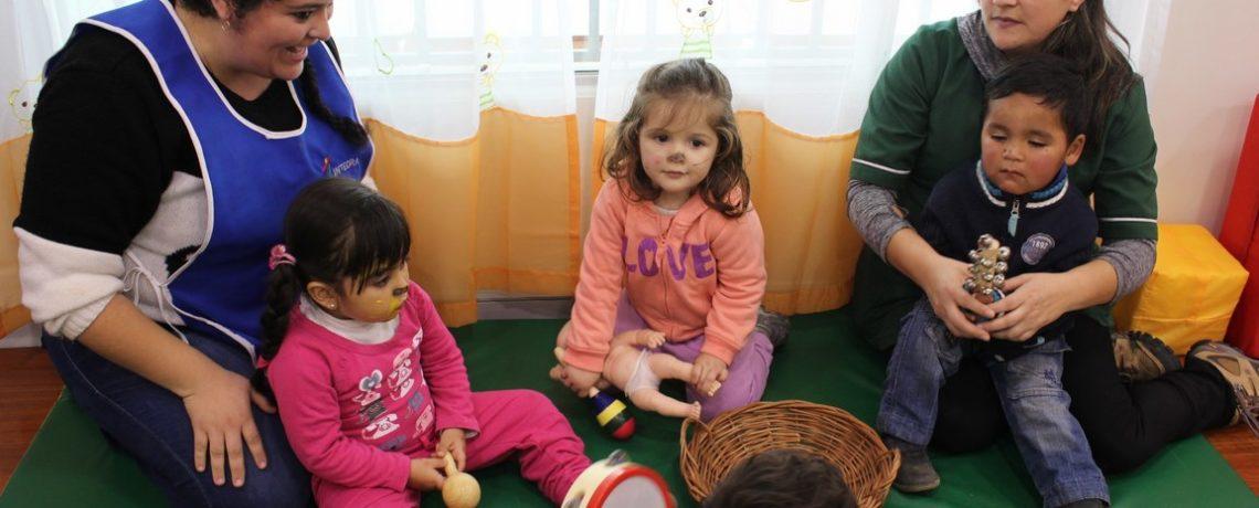 Talca: Primera sala cuna y jardín para madres adolescentes