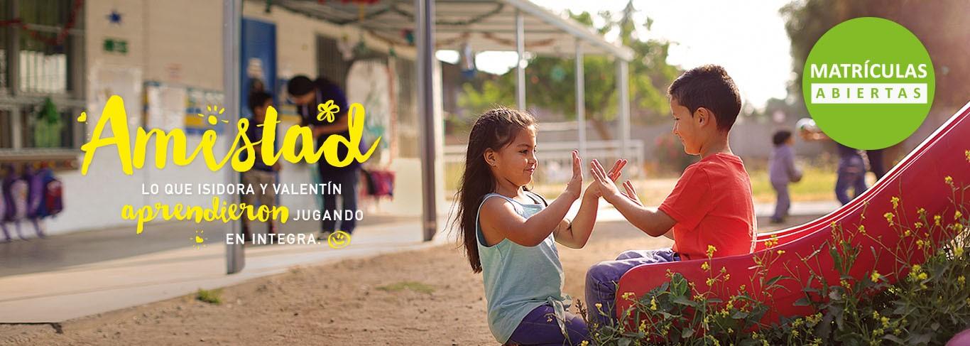 Integra lanza campaña de matrículas 2017
