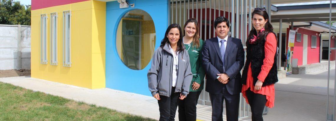 """Comienzan matrículas en jardín infantil """"Violeta Parra"""" de Valparaíso"""