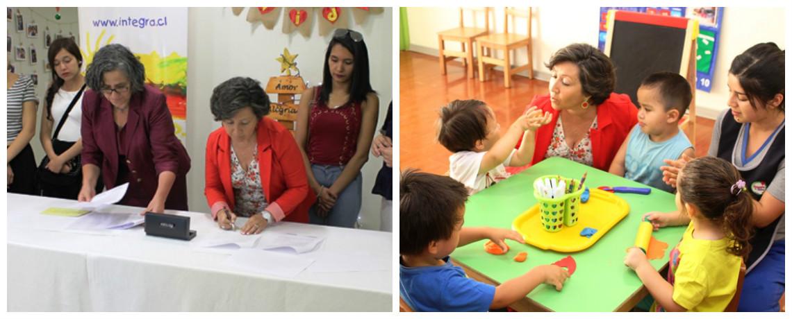 Promoviendo la equidad de género en jardín infantil del Maule