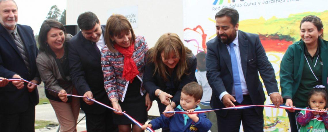 Un nuevo jardín infantil Integra abre sus puertas en Chiguayante