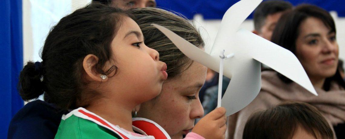 Integra inaugura dos nuevos jardines infantiles en la Araucanía