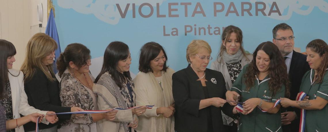 """""""La sala cuna Violeta Parra honra a una de las mayores creadoras que ha tenido Chile"""""""