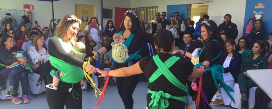 86 niños y niñas aprenden jugando en nuevo jardín infantil de Coquimbo