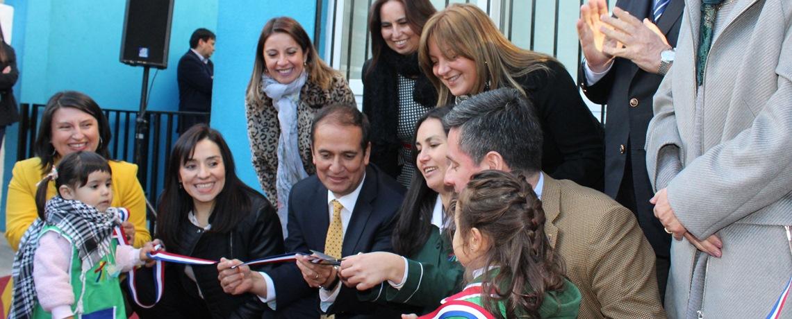 Cuatro nuevos jardines infantiles y salas cuna en Biobío