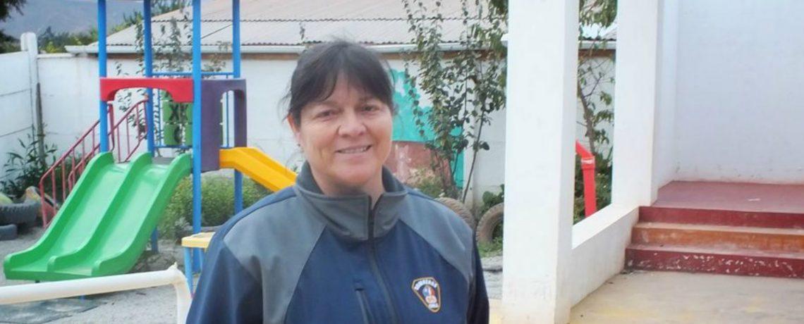 Clara Figueroa: agente educativa y bombera