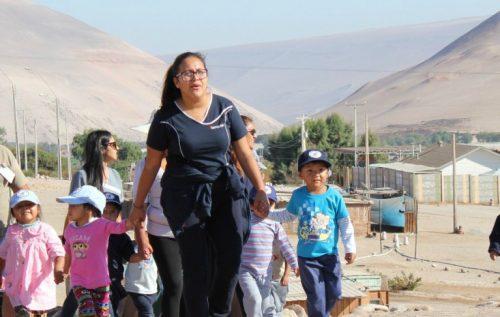 Jardín infantil Integra de Arica celebró fiesta de La Cruz de Mayo