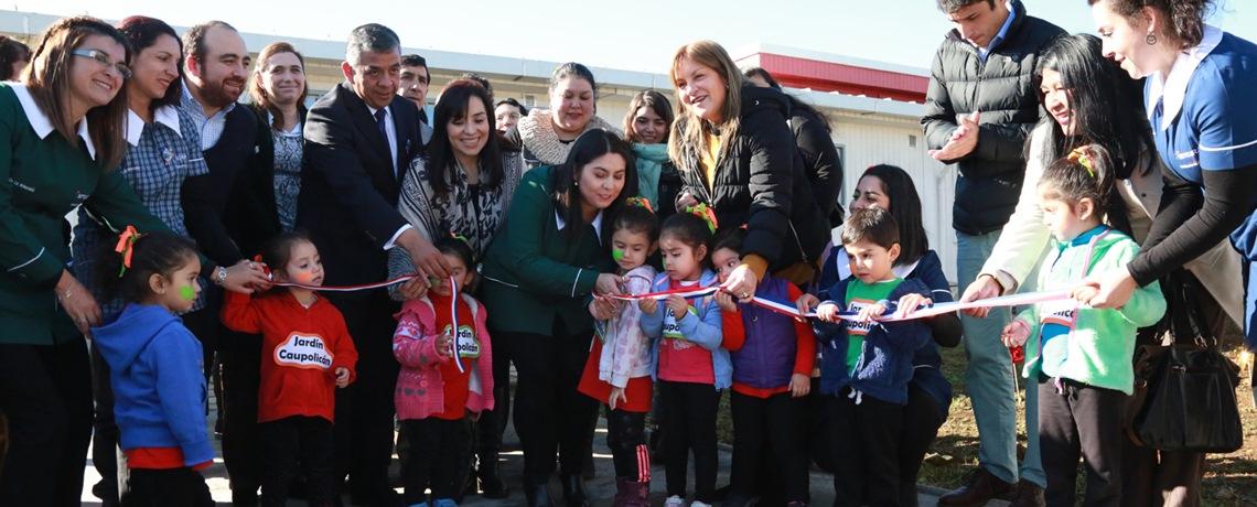 Collipulli, Galvarino y Villarrica inaugura nuevos jardines infantiles Integra