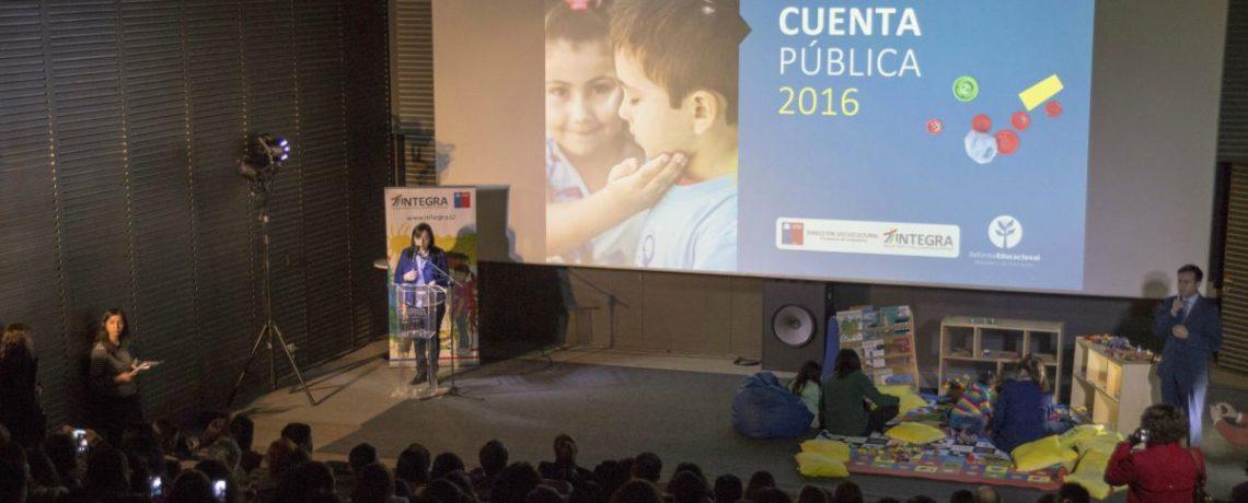 """""""Hemos cumplido con el compromiso de la Presidenta Bachelet con la primera infancia"""""""