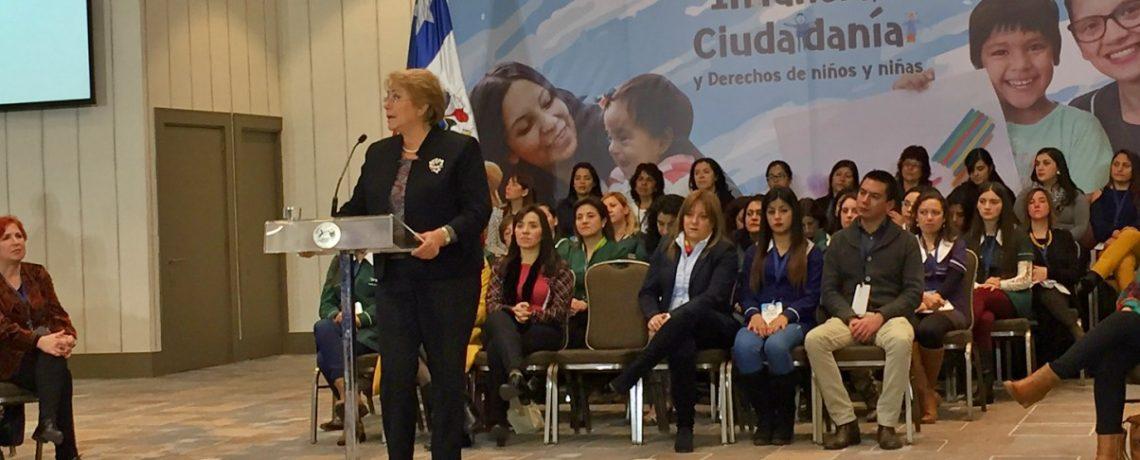 """Presidenta Bachelet inaugura seminario """"Comparte Educación"""" 2017"""