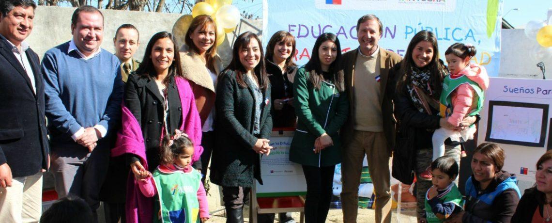 Familias de Casablanca celebran inauguración de nuevo jardín infantil