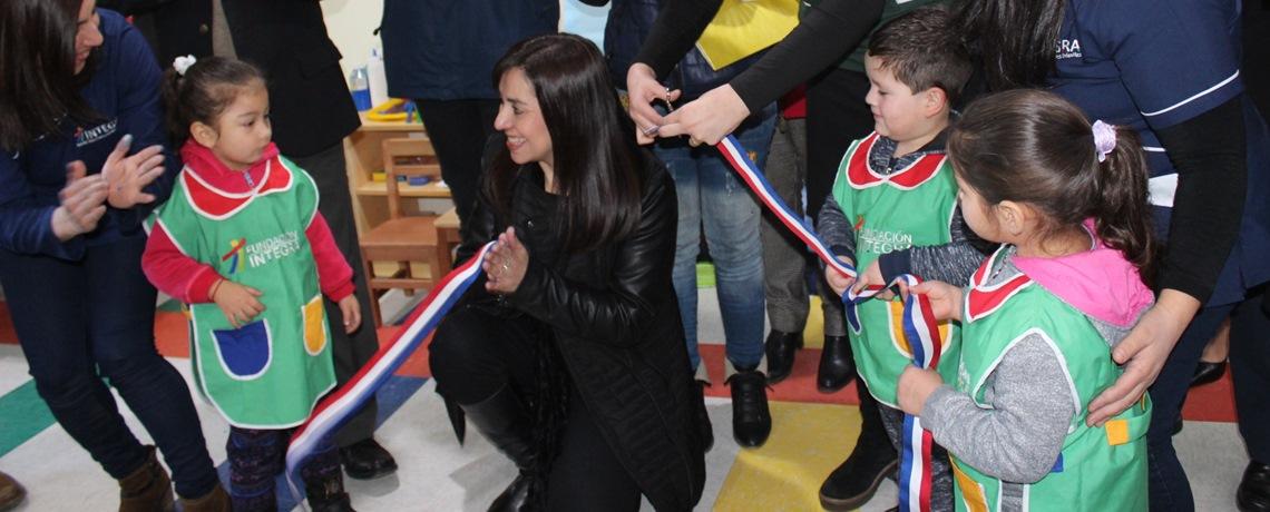 220 niños favorecidos con dos nuevos jardines en Biobío