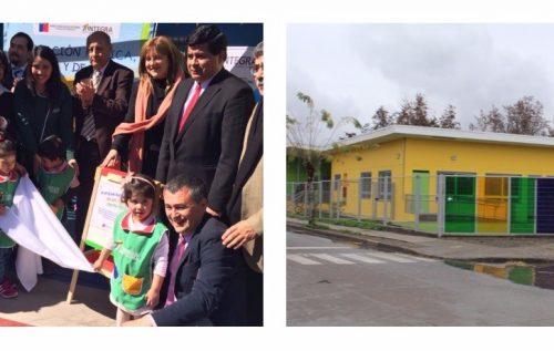 Inauguramos nuevo jardín infantil en comuna de Santa María