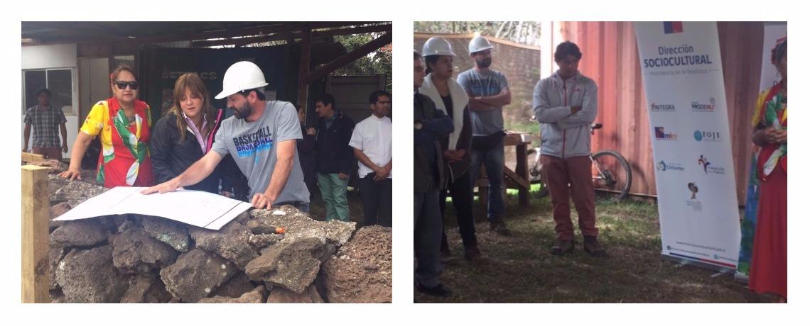 Integra inicia la construcción de sala cuna y jardín infantil en Rapa Nui