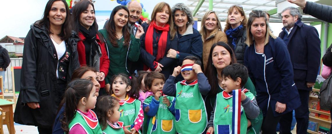Nuevo jardín infantil Integra en Viña del Mar