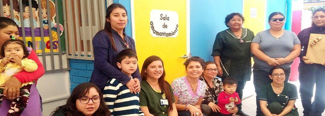 Nueva sala de amamantamiento para jardín infantil de Pozo Almonte