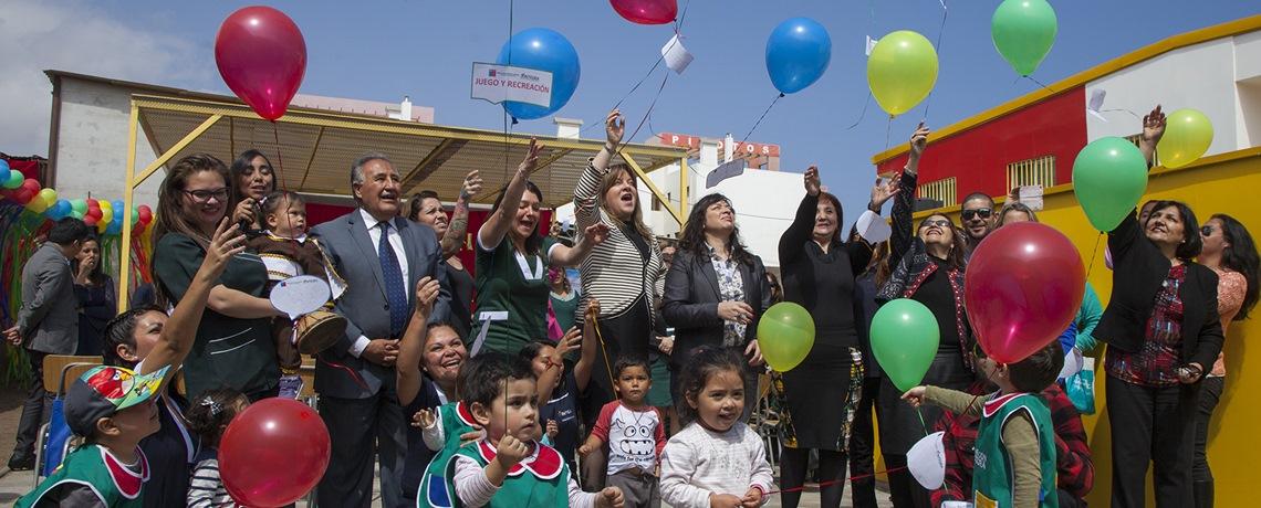 Nuevo jardín infantil Integra en el centro de Antofagasta