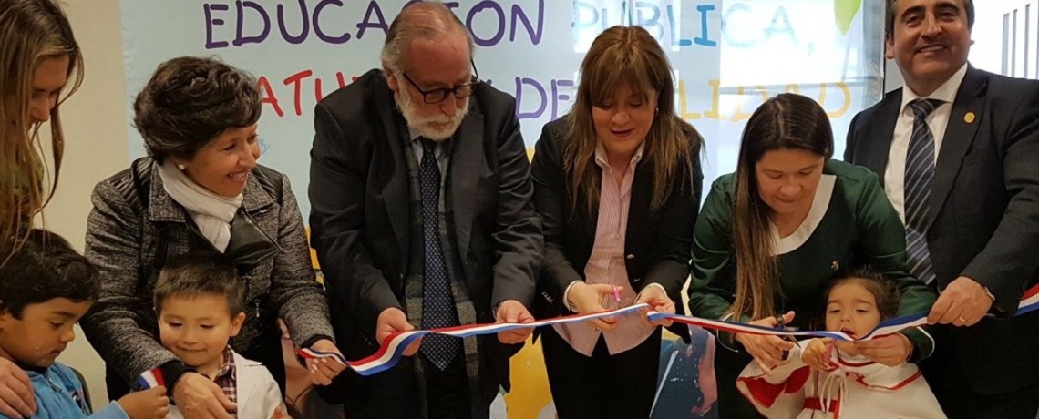Inauguramos nuevo jardín infantil para 108 niños en Talca