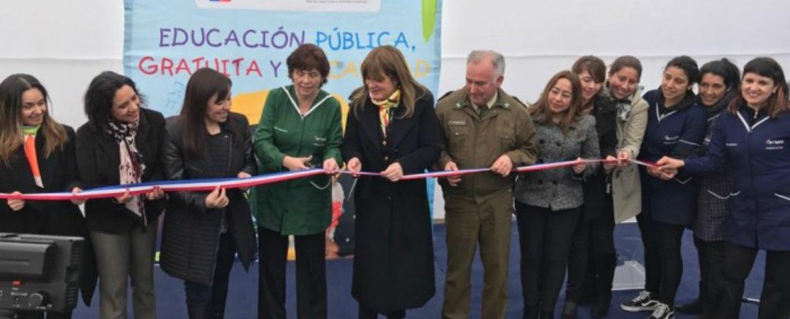 La comuna de El Bosque celebra apertura de nuevo jardín infantil