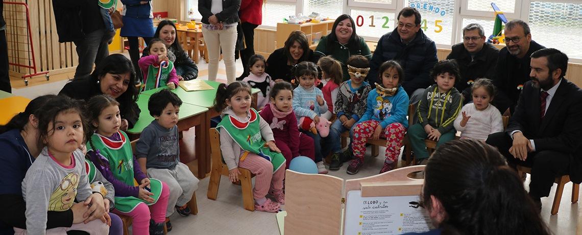Integra inauguró nuevos jardines infantiles en Puerto Montt