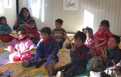 Una caja musical para el jardín infantil Sagrada Familia