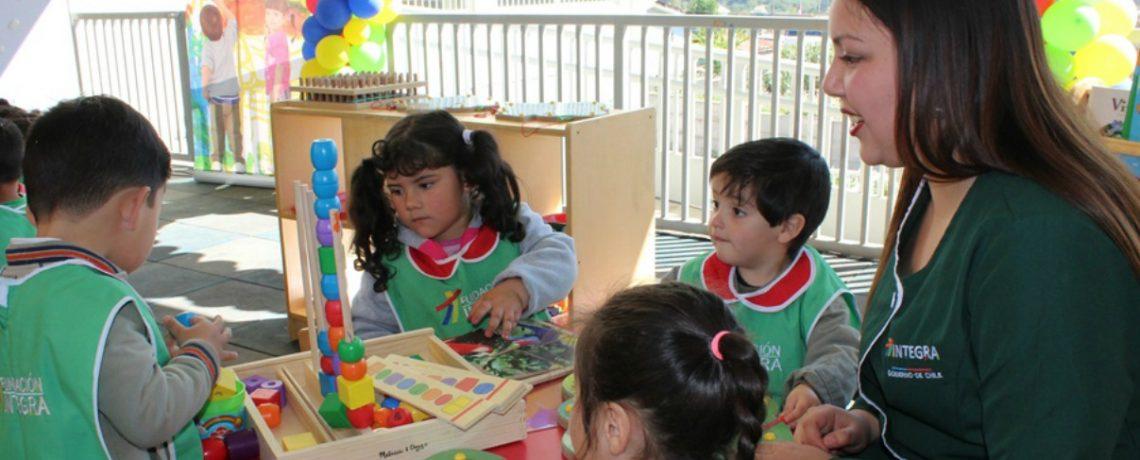 96 niños y niñas tienen nuevo jardín infantil en Viña del Mar