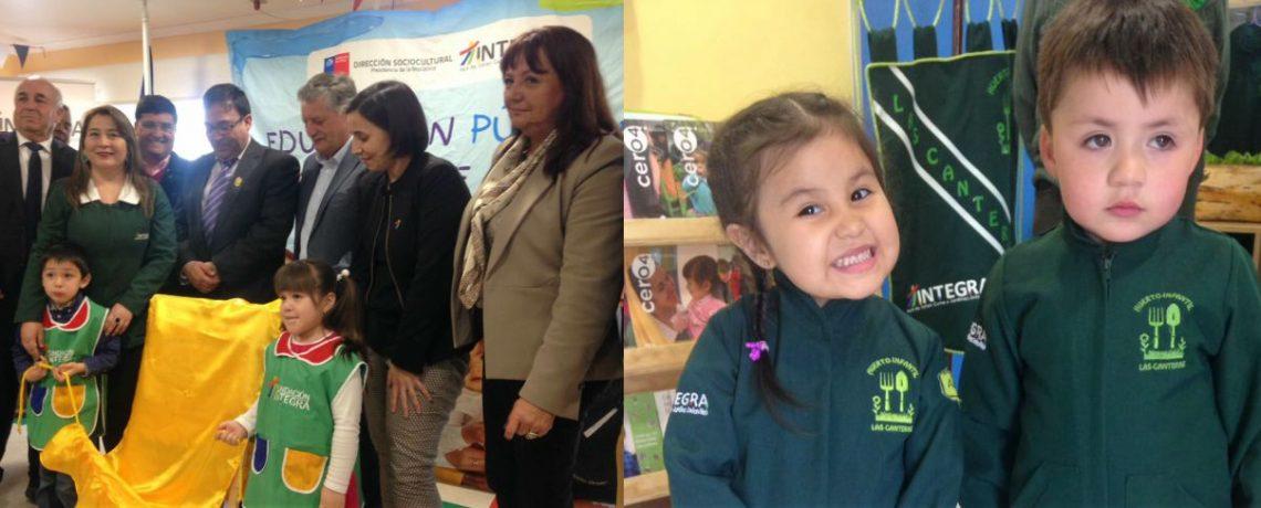Inauguramos dos nuevos jardines infantiles en Biobío