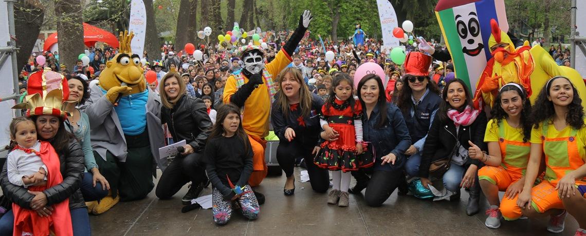 Carnaval Integra convocó a más de tres mil personas en la Quinta Normal